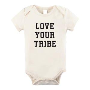 Love Your Tribe Organic Bodysuit Onesie